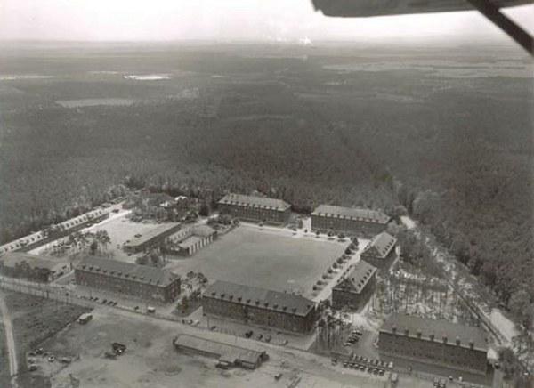 Ernst-Ludwig-Kaserne um 1940